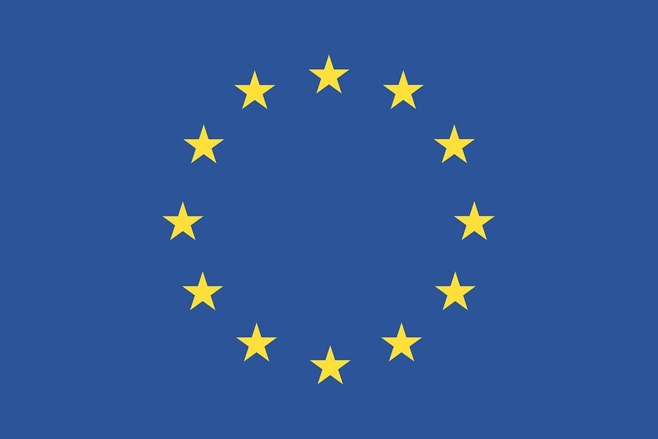 Flagge, Europäischen Union, Eu, Europäischen Union Flag