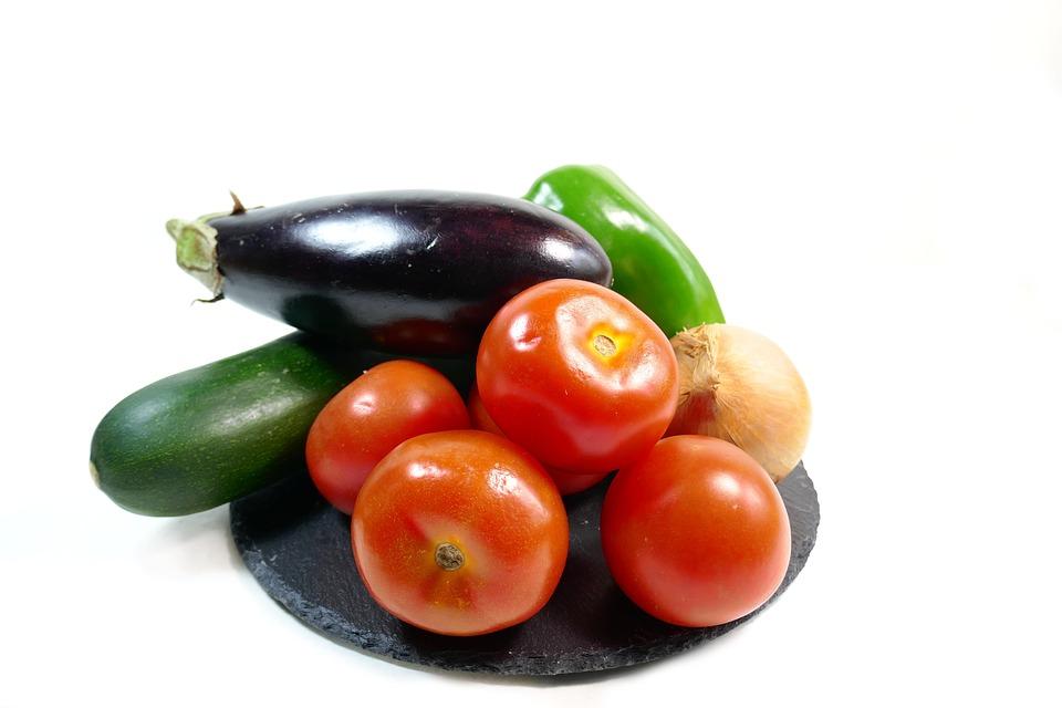 Tomates, Courgette, Légumes, Ratatouille