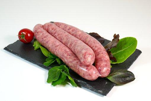Salchicha, Carne, Asar A La Parrilla