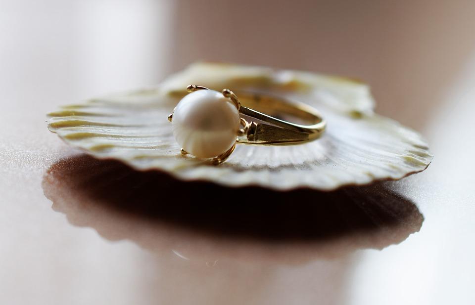 ジュエリー, 真珠, 金, ファッション, 美しさ, アクセサリー, 贅沢, 優しさ, 輝き, エレガンス