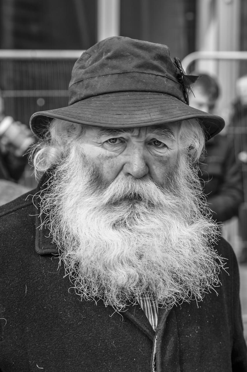 древних картинка старик с бородой вами