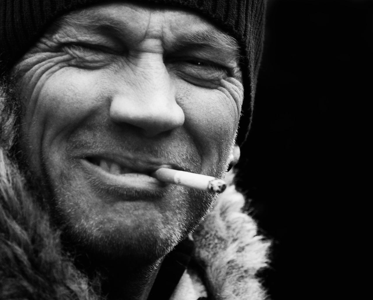 Утро, прикольные картинки с сигаретой в зубах