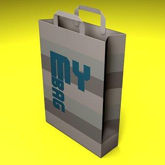 Bag, Shop, Store, Shopping, Render
