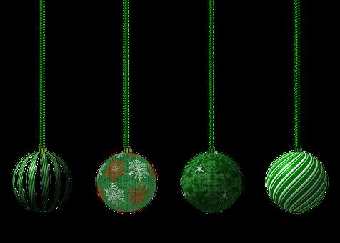 Babioles, Balles, Décoration, Vacances