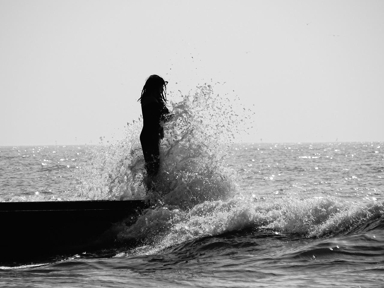 Gelombang Pantai Hitam Gambar Gratis Di Pixabay