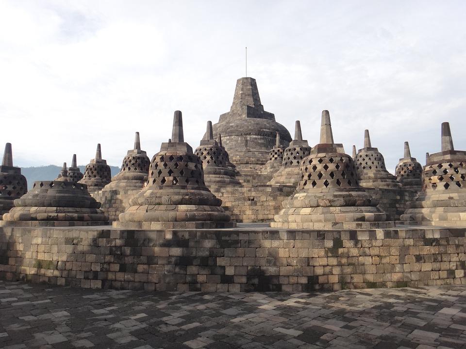 borobudur indonesia temple free photo on pixabay