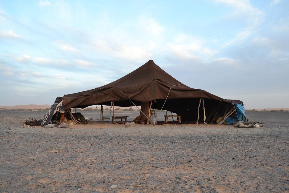 zelten in marokko
