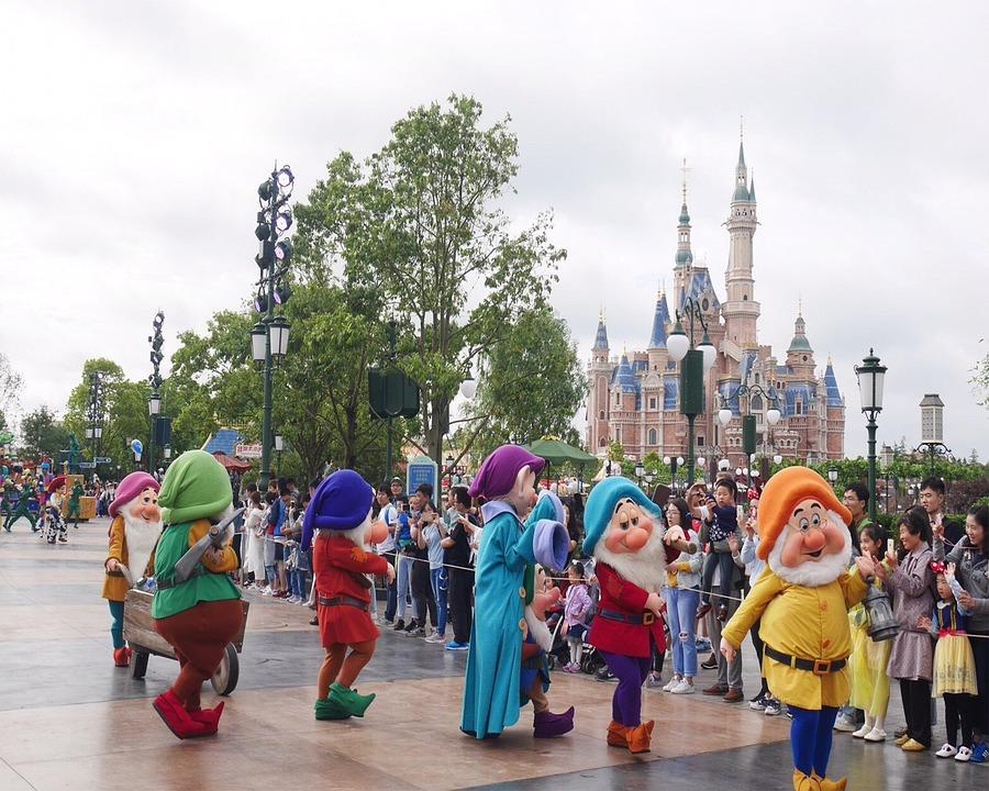 Theme Park Shanghai Disneyland 183 Free Photo On Pixabay