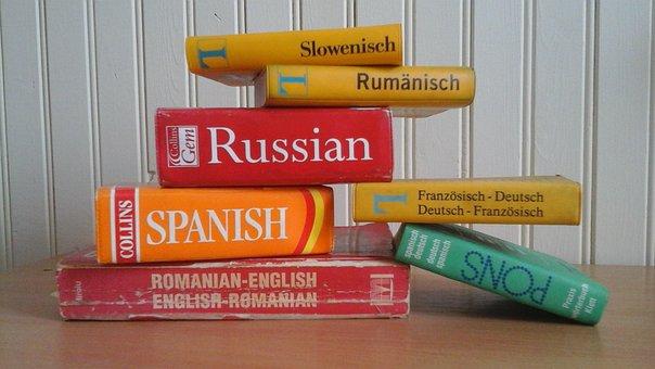 Diccionario, Idiomas, Aprendizaje