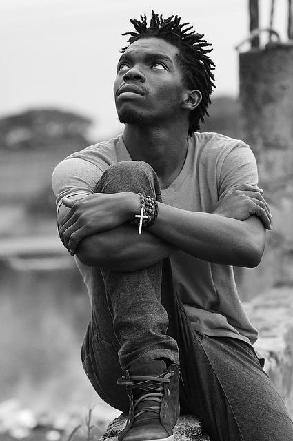 uganda thinking soul pose boy pixabay portrait thoughts praying meditation solitude