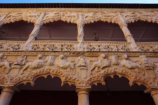 Qué ver qué hacer en Guadalajara, Vista interna palacio del Infantado