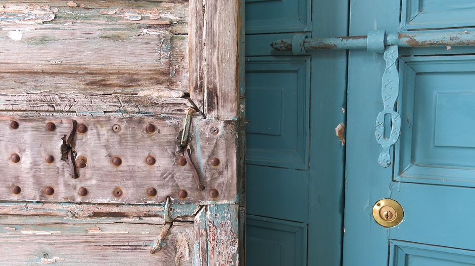 doors antique oriental fittings weathered aging & Doors Antique Oriental · Free photo on Pixabay
