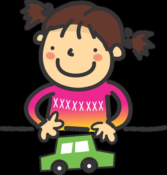 어린이 여자아이 장난감 · Pixabay의 무료 벡터 그래픽