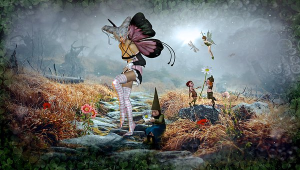 Fantasía, Los Cuentos De Hadas, Elf