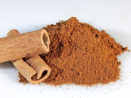 Cinnamon, Sticks, Ground, Spice, Food