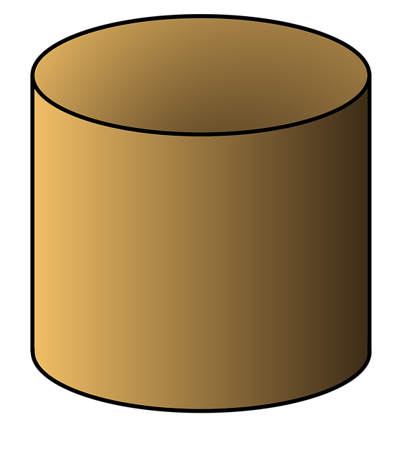 картинка геометрический цилиндр находится