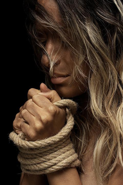 Rope, Model, Hands, Bondage, Freedom, Passion, Fiction