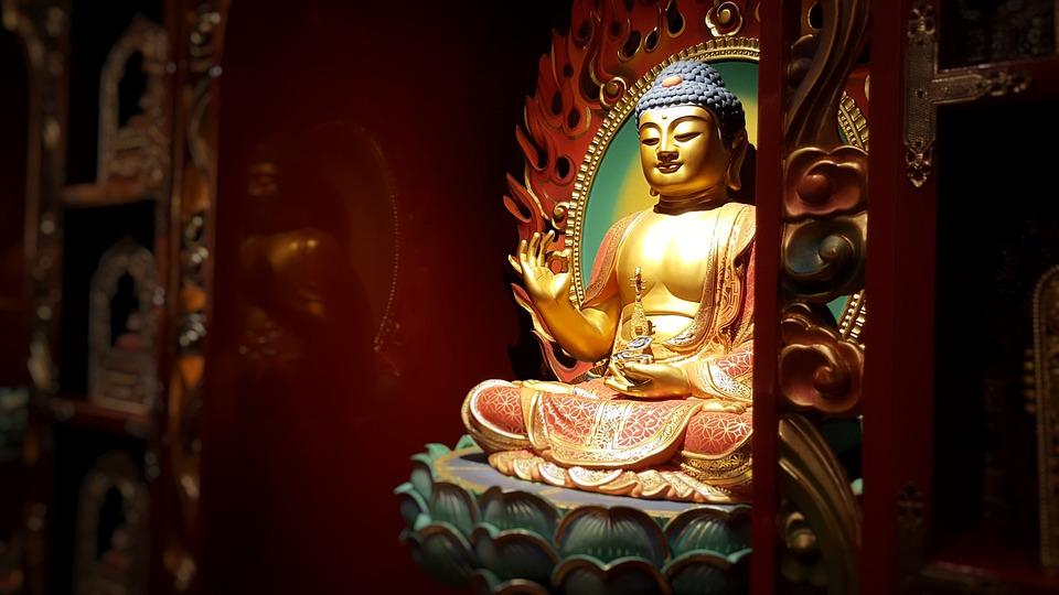 Singapore, Boeddhistische Tempel, Boeddha, Boeddhisme