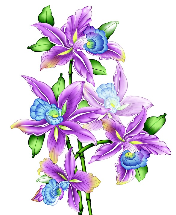 53+ Gambar Bunga Cat Air Kekinian