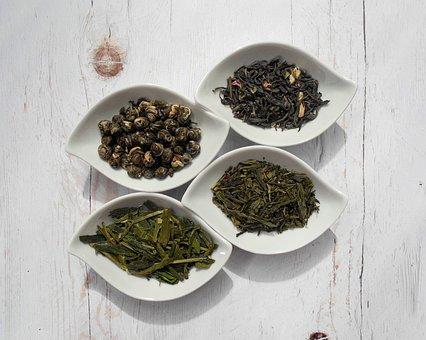 茶葉, お茶, 緑茶, 湯のみ, 乾燥葉, 乾燥工場, 食品