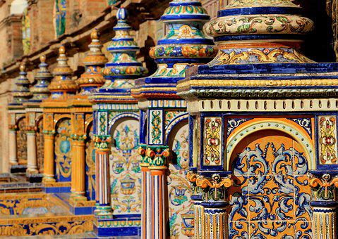 Espagne, Céramique, Décoration, Design