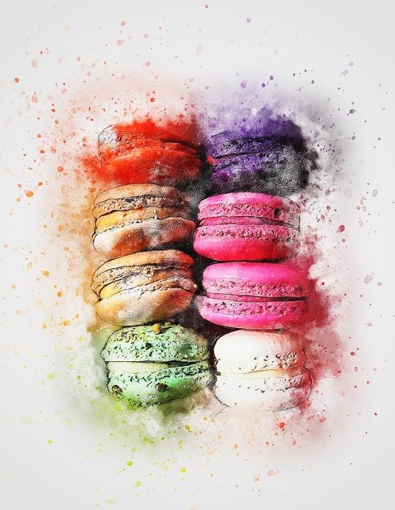 cake pastry macaroon  u00b7 free image on pixabay