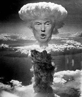 Trump, Threats, Bomb, Nuclear, Atom Bomb