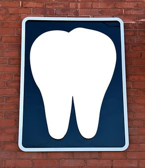 Dentist Office, Sign, Wall, Background