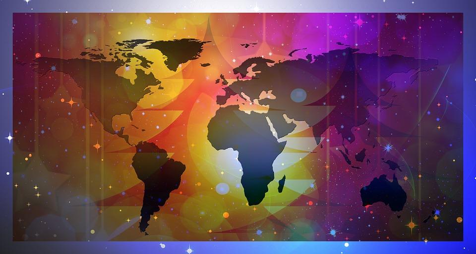 Weihnachtsdeko Globus.Grußkarte Globus Kontinente Kostenloses Bild Auf Pixabay