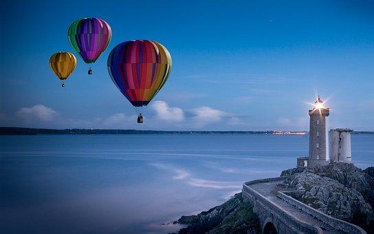 Balloons, Hot Air Balloon Rides