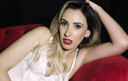 Woman, Sensual, Lipstick, Model, Female