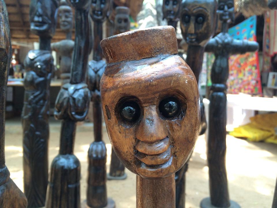 Liebe Holz Skulptur Herz Design Dekoration