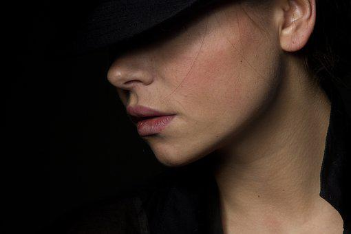 ファッション, モデル, 若い, ファッション撮影, 若いモデル, 美容, 顔