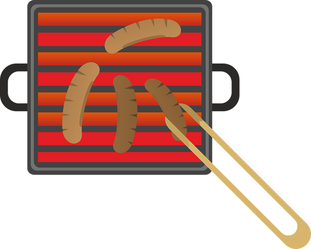 Free Vector Graphic: Grill, Barbecue, Sausage, Meat