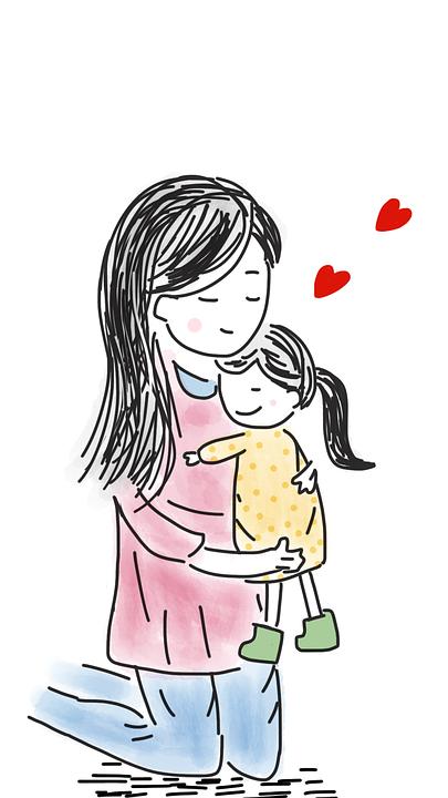 Ibu Dan Bayi Perempuan Gambar Gratis Di Pixabay