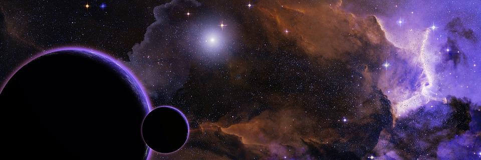 Пространство, Звезди, Планета, Вселена