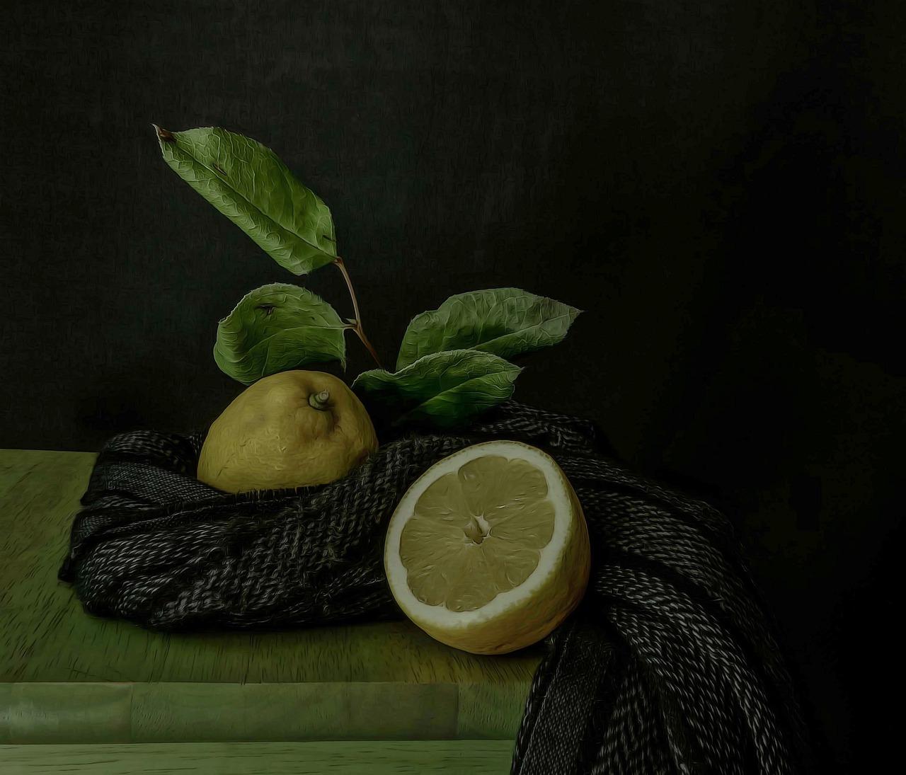 картинки натюрморты с лимоном очередная загадка раздела