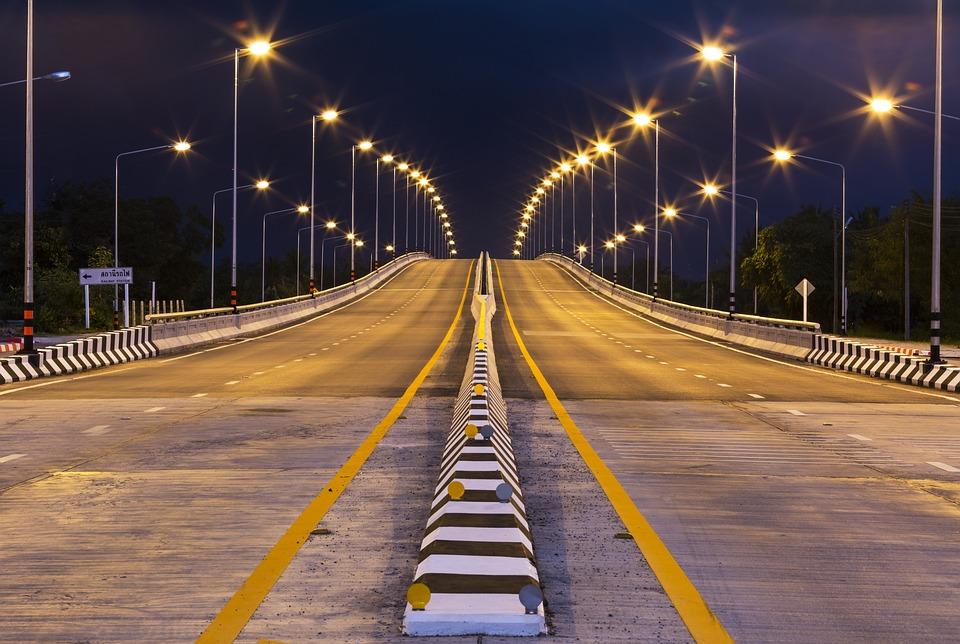 Roads, Lighting, Construction