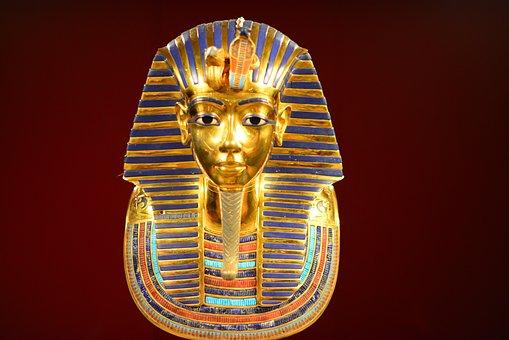 Tutanchamun, Gold, Ägypten, Pharao