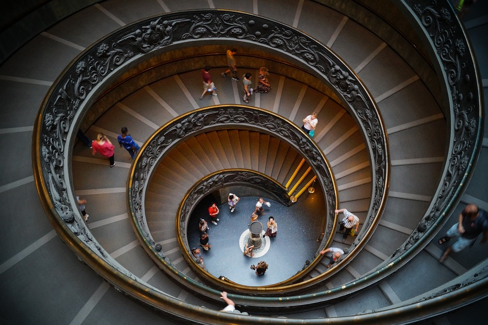 バチカン, 博物館, 階段