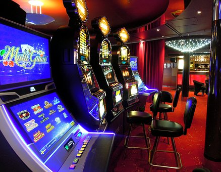 Casino, Slot Machines, Excitement, Game