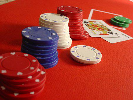 Poker, Blackjack, Chips, Cards, Casino