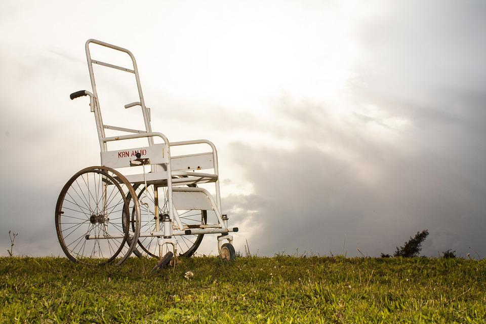 Free photo: Disabled, Chair, Engel, Fiction - Free Image on ...