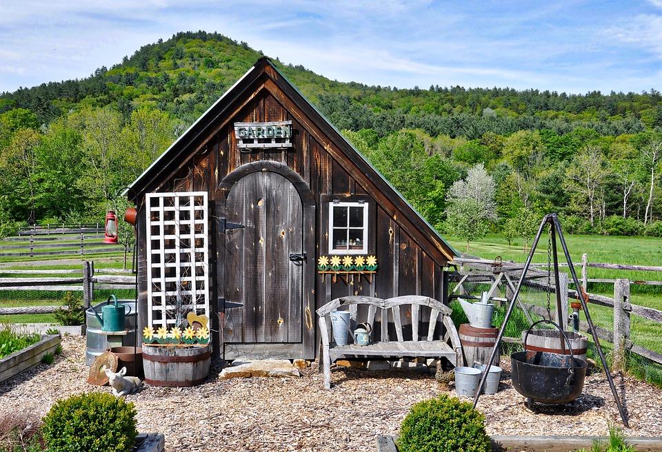 Gerätehaus Land Gartenarbeit · Kostenloses Foto auf Pixabay