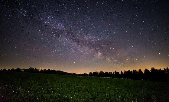Milky Way, Night, Star, Sky