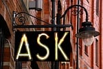 ask, sign, design