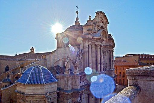Principales Destinos de Murcia, Vista parte alta de la Catedral de Murcia