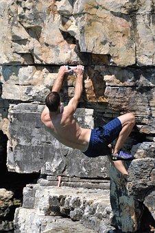 Free Climbing, Felsen, Klettern