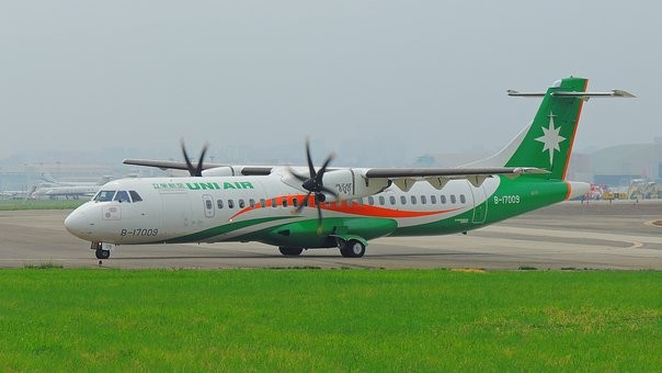 Taipei, Plane, Travel, Airplane, Asia