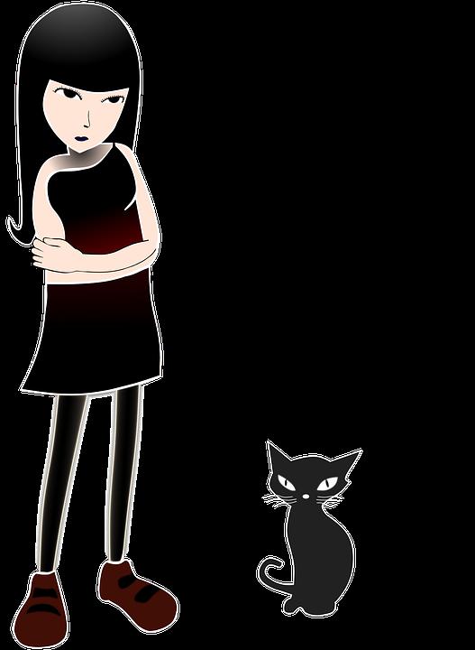 Gratis for kommerciel brug. Lignende billeder: catwoman kat pige portræt mode.